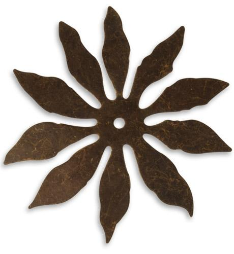 60mm 10 Petal Cutout Flower (18 pcs)