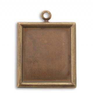 28x25mm Rectangle Bezel (20 pcs)