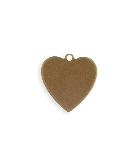20mm Heart Blank (30 pcs)