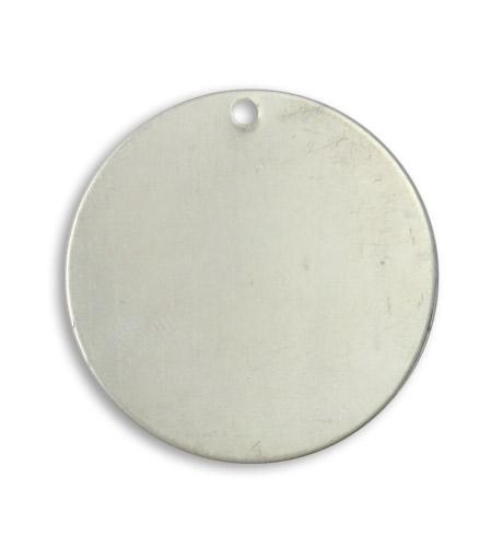 29mm Circle blank, pewter (10 pcs)