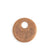 24mm  Asymm etrical Donut Blank - Copper Antique Plated (6 pcs)