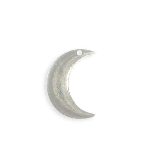 23x19mm Crescent Moon Blank (6 pcs)