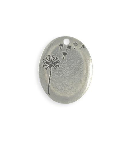 25x20mm  Drifting Dandelion Blank (4 pcs)