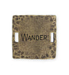 32mm, Wander - Bronze Antique Plated (3pcs)