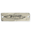 47x14mm, Long Journey - Pewter Antique Plated (3pcs)