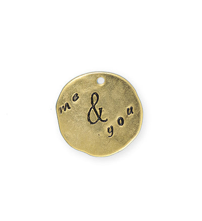 21mm, Me & You - 10K Gold Plated (3pcs)