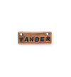 24x9mm, Wander - Copper Antique Plated (3pcs)