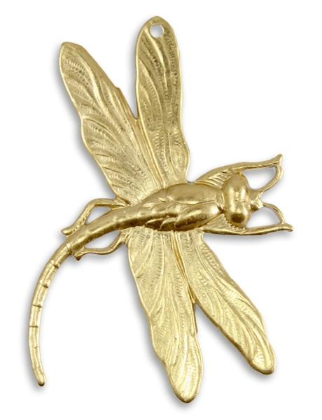 47x35mm Art Deco Dragonfly (6 pcs)