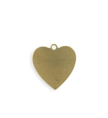 20mm Heart Blank (16pcs)