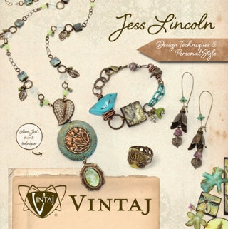 Vintaj Technique Book - Jess Lincoln Design Techniques and Personal Style (1 book)