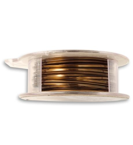 Vintaj Natural Brass Square Wire 18 GA (21 ft)