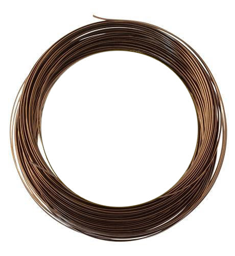 Vintaj Natural Brass Half Round Wire 21 GA (21 ft)