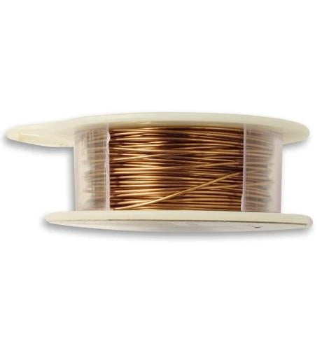 Vintaj Natural Brass Wire 22 GA (60 ft)