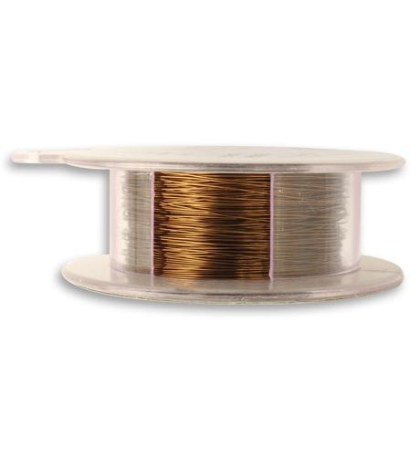 Vintaj Natural Brass Wire 28 GA (180 ft)