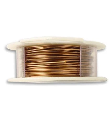 Vintaj Natural Brass Wire  20 GA (45 ft)