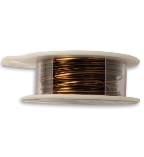 Vintaj Natural Brass Square Wire  21 GA (21 ft)