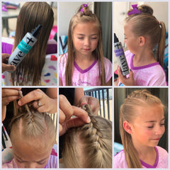 The Braided Pony Step by Steps