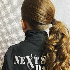 The Sleek Side Pony with Curls, Curls and Curls by @fave4girllynne