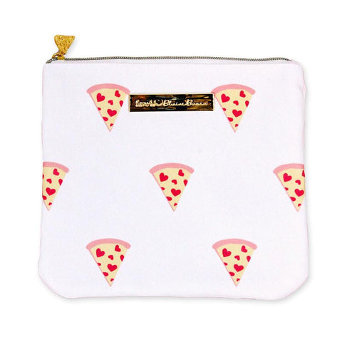 PIZZA Carry-All Makeup Clutch
