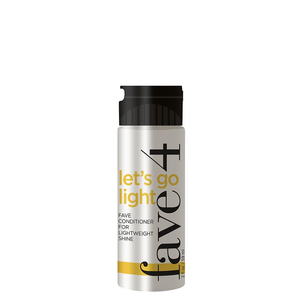 Fave4 Shampoo/Conditioner Let's Go Light - Fave Conditioner for Lightweight Shine MINI 113337