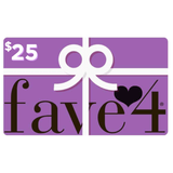 Xile Beauty Sweet Deals $25.00 fave4 Gift Card