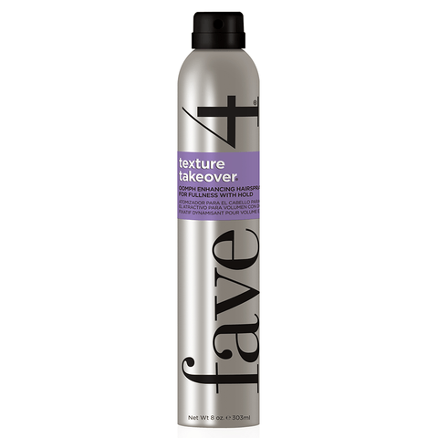 Fave4 Hairspray Texture Takeover - Oomph Enhancing Texturizing Hairspray 113312