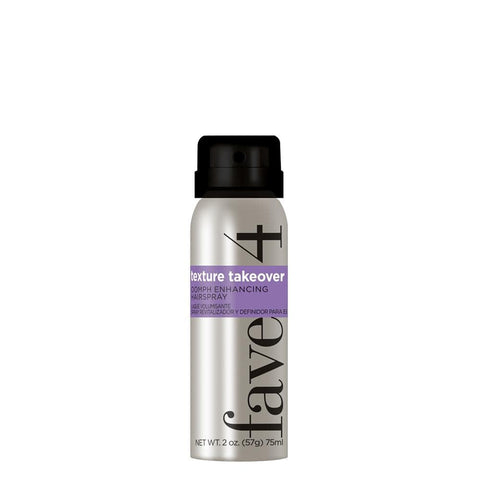 Fave4 Hairspray Texture Takeover - Mini Oomph Enhancing Hairspray 113325