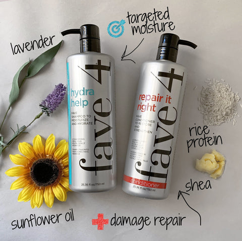 Moisture shampoo, hydrating shampoo, repairing conditioner, protein packed, sulfate free, salt free, gluten free