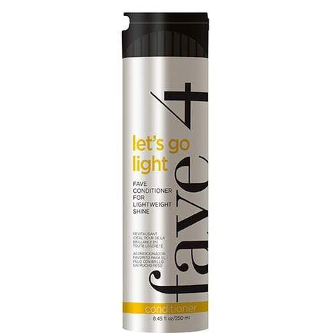 Let's Go Light - Fave Conditioner for Lightweight Shine