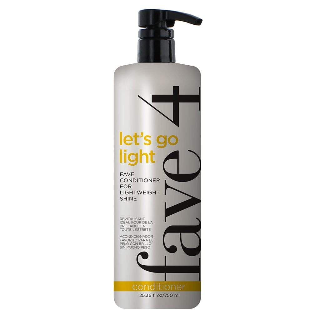 Fave4 Shampoo/Conditioner Let's Go Light - Fave Conditioner for Lightweight Shine FANATIC Size 113343