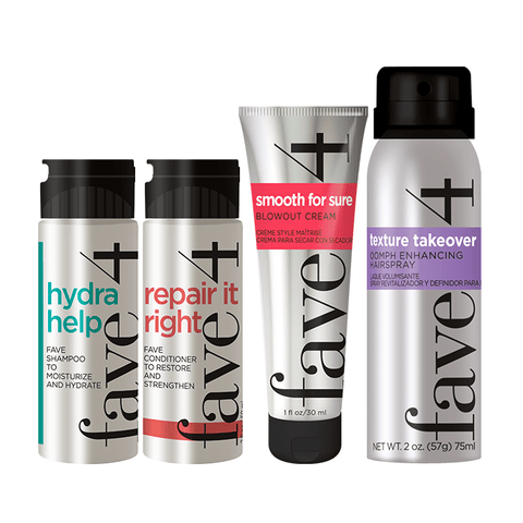 fave4 Sweet Deals Ready to Travel: Smooth Hair Minis 114916