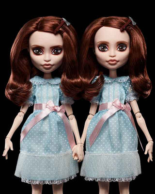 THE SHINING GRADY TWINS MONSTER HIGH COLLECTOR DOLLS