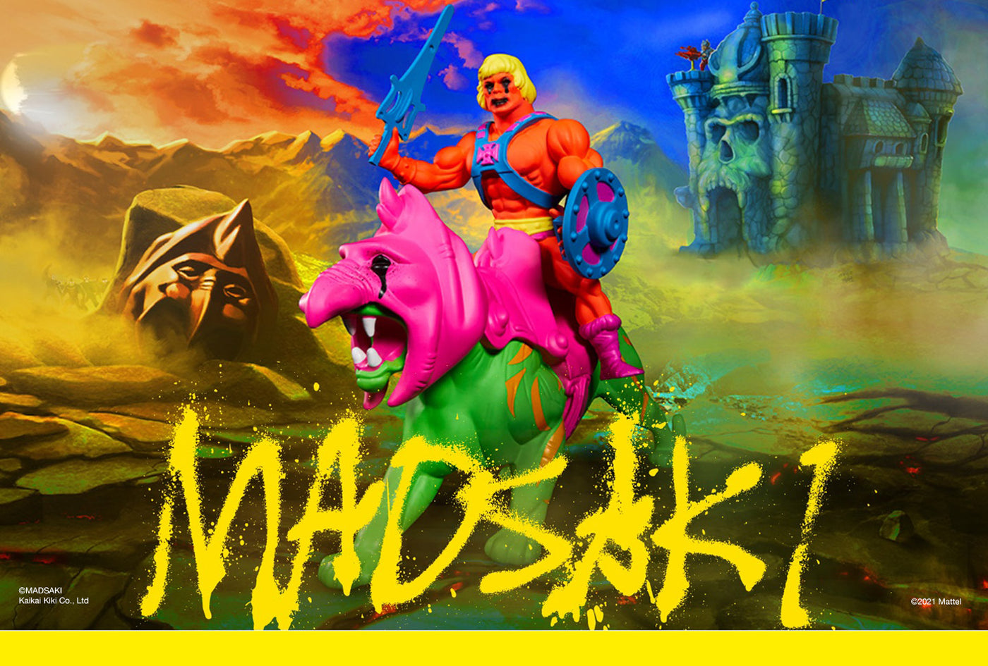 MADSAKI x MASTERS OF THE UNIVERSE