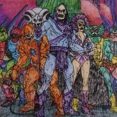 MADSAKI + MASTERS OF THE UNIVERSE Villain Print