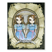 The Shining Grady Twins Collector Dolls Poster
