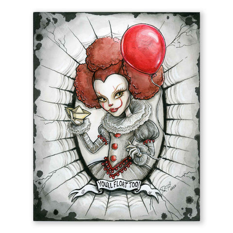 IT Pennywise Collector Doll Poster