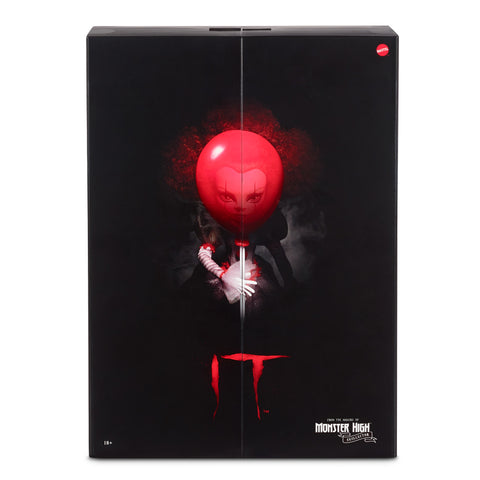 IT Pennywise Collector Doll Packaging