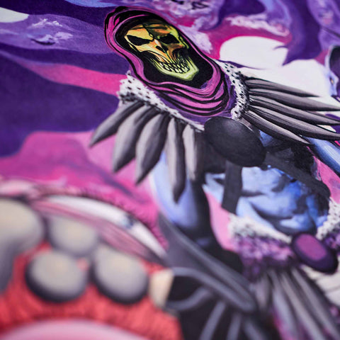Gianni Lee X Skeletor® Artist Print Signature Edition
