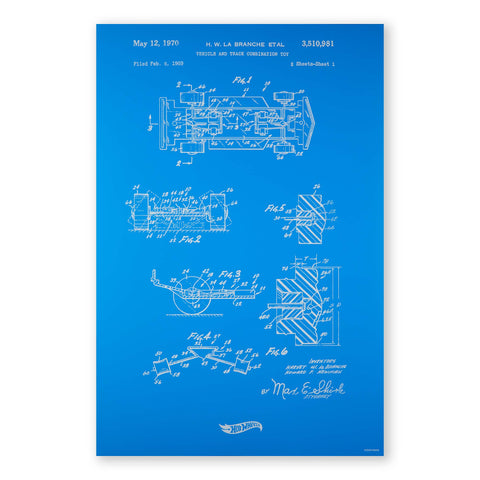 Art of Engineering Hot Wheels® Print