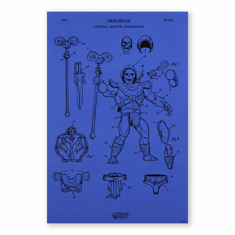 Art of Engineering Skeletor® Print