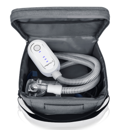 CleanFlash CPAP BiPAP Cleaner Sanitizer - CleanFlash Bag