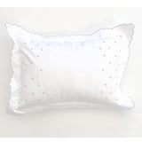 Swiss Dot Baby Pillow with Monogram