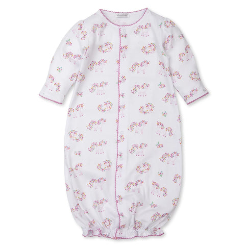 Pima Cotton Converter Gown Unicorn Garden
