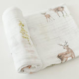 Little Unicorn Cotton Muslin Single Swaddle Blanket