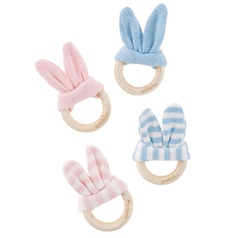 Bunny Ear Wooden Teethers
