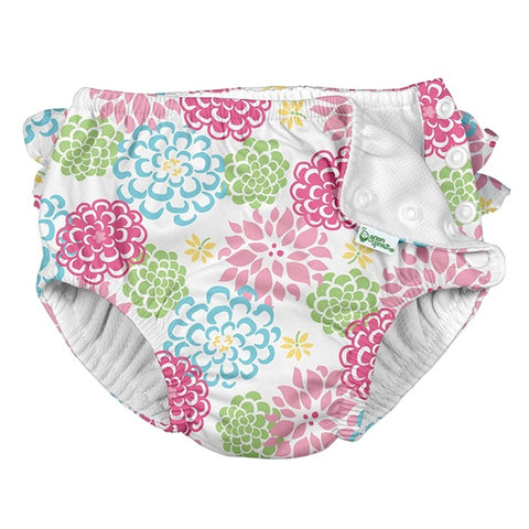 Ruffle Snap Swim Diaper