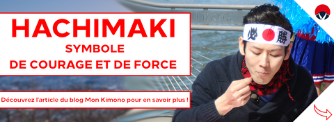 Hachimaki symbole force et courage