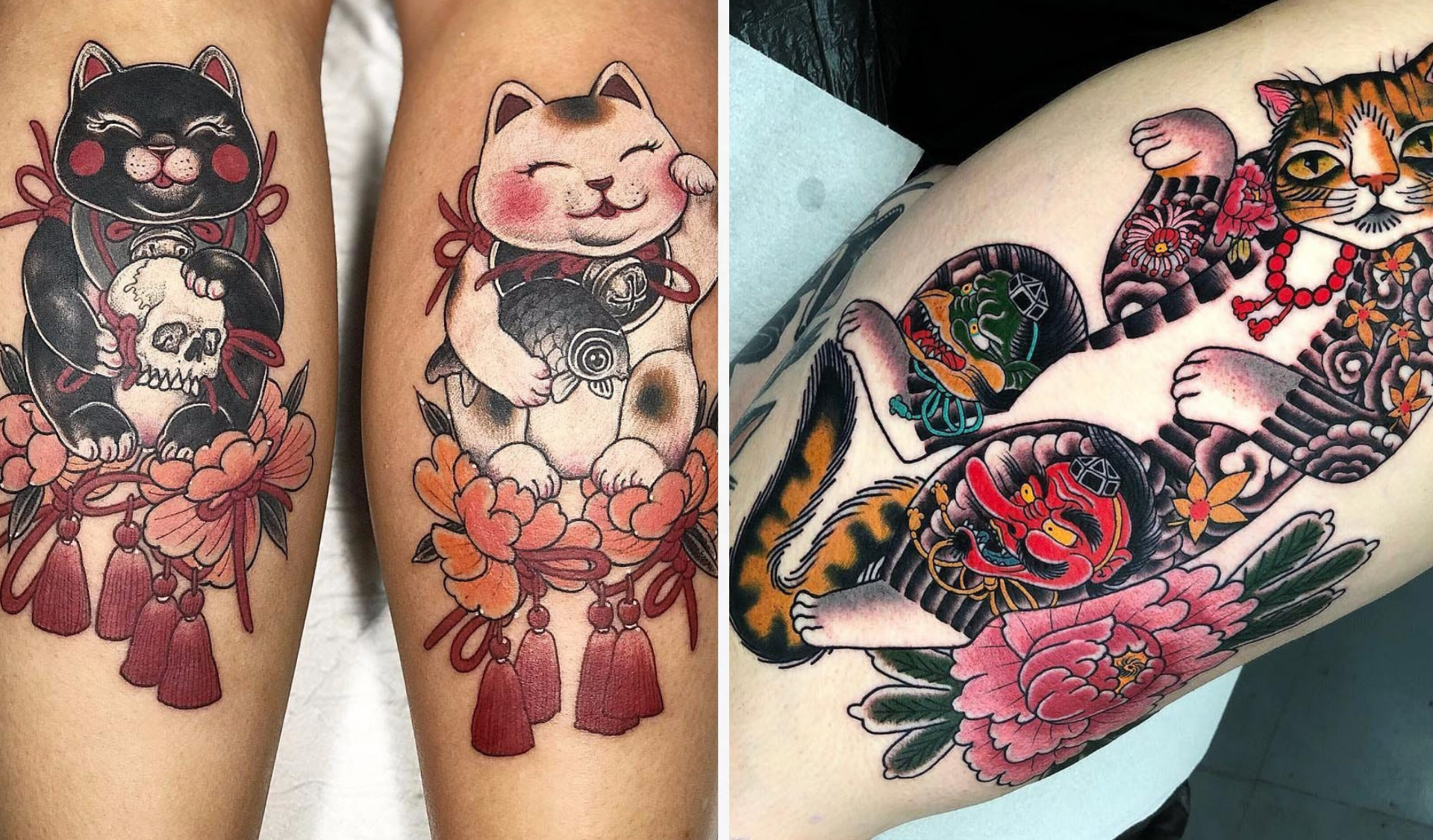 Tatouage Neko Chat