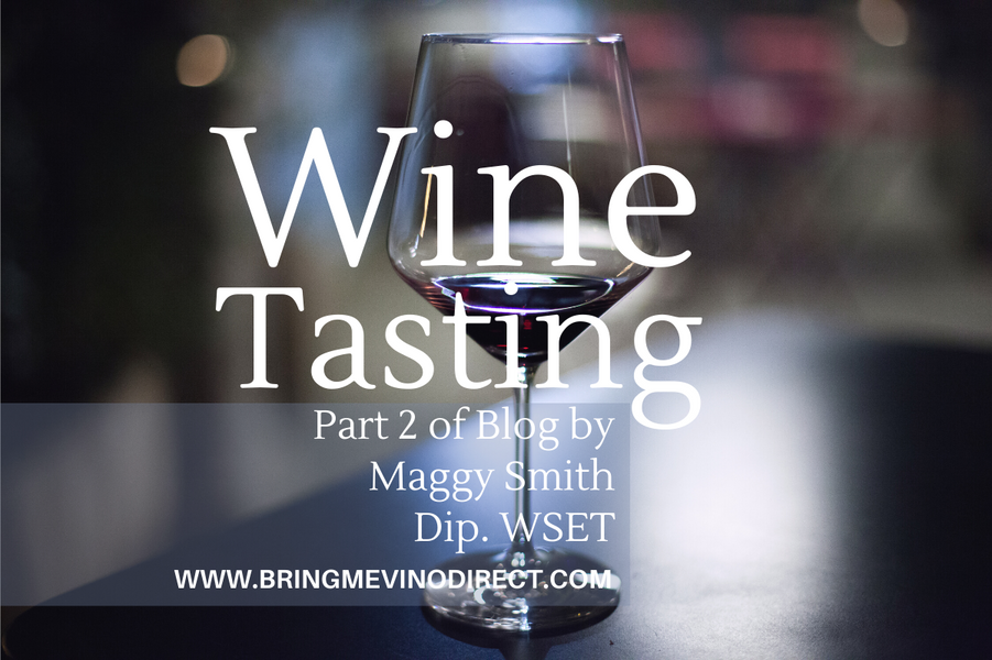 Wine Tasting Part 2 - Enter the world of aromas and flavour