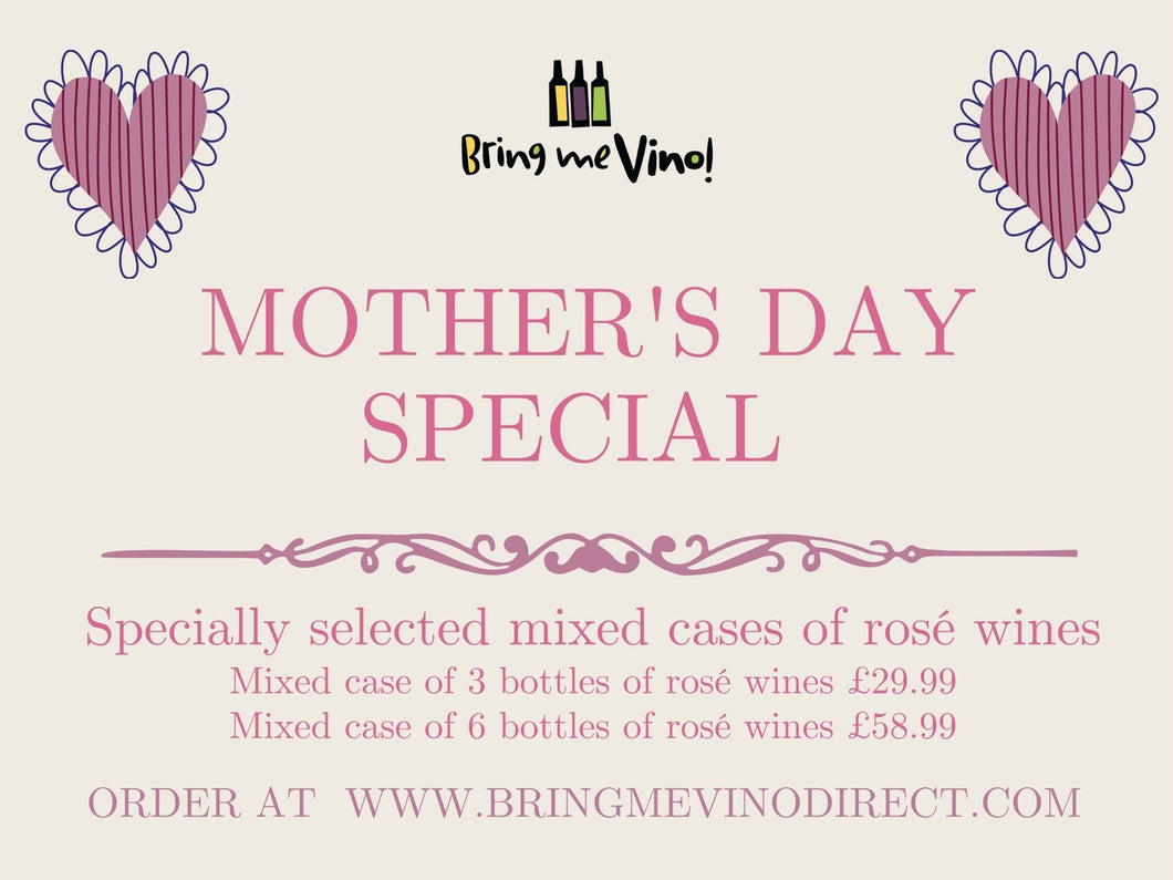Mother's Day Special mixed cases of rosé wines